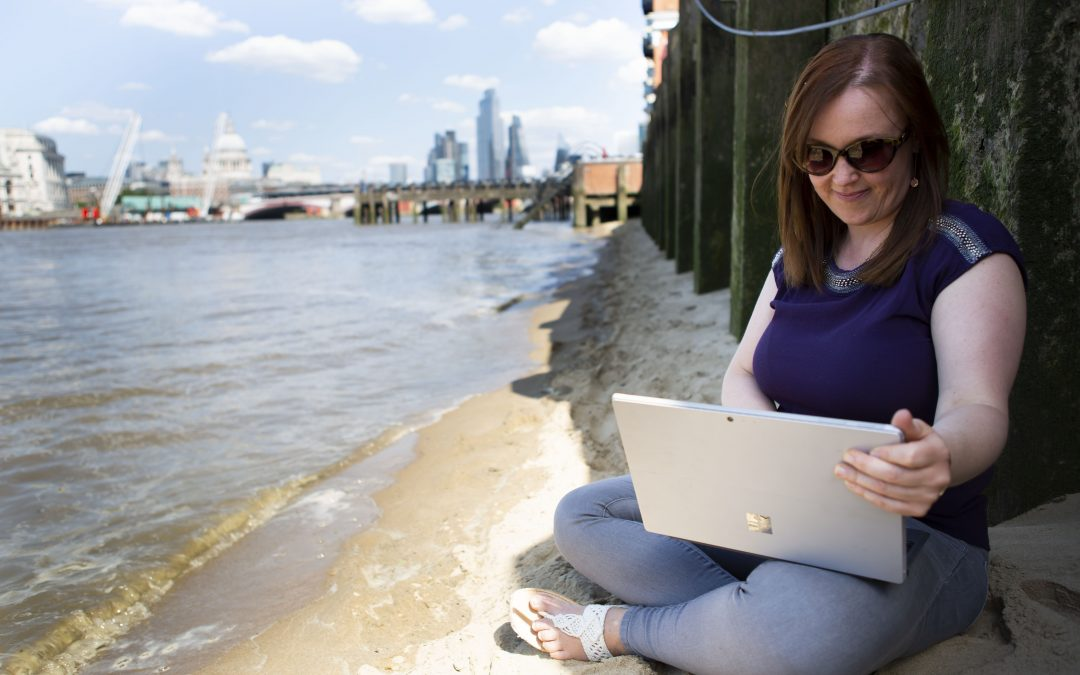 Working from brilliant London hotels and coworking spaces as a digital nomad