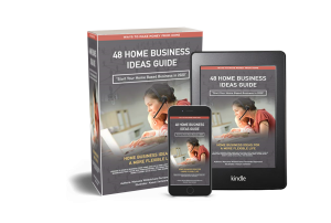 Kindle Book Home Business Ideas cover marketing image