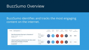 Buzzsumo - SEo Tools for Writers