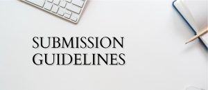 Submission guidelines are your cheat sheet