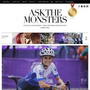 Beatrice Lessi Ask The Monsters blog screenshot