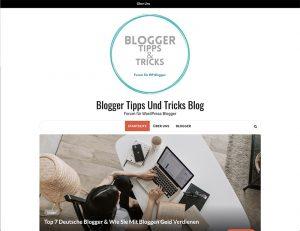 Bloggers Tipos and Tricks_screenshot