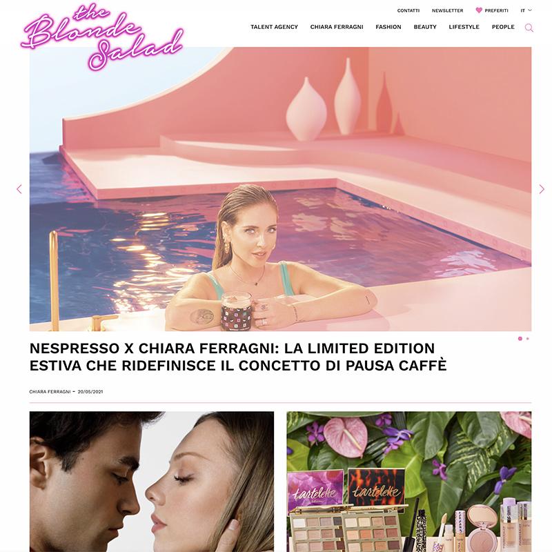 Chiara Ferragni top Italian blogger