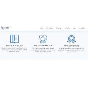 ClickDo PR copy and services