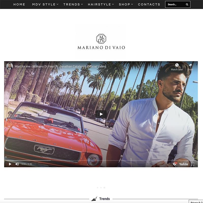 Mariano Di Vaio mdv style blog