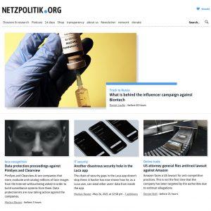 Markus Beckedahl Netzpolitik blog