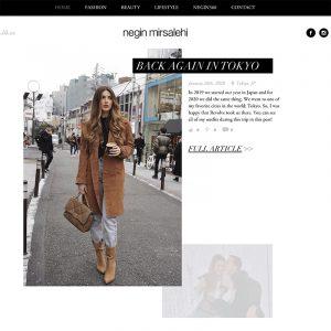Negin Mirsalehi blog