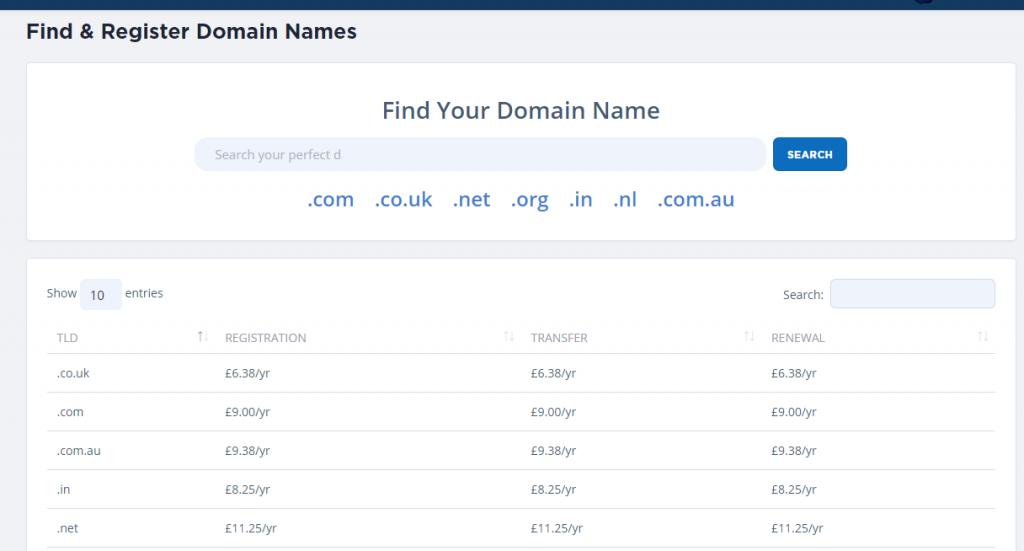 register domain name