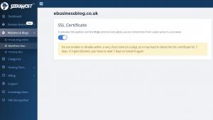 seekahost app SSL Certificate